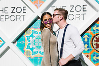 Charlotte Wright and Jake Pierce attend The Zoe Report Presents the Third Annual ZOEasis on April 15, 2017 (Photo by Jason Sean Weiss / Guest of a Guest)