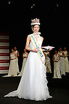 November 4, 2014, Tokyo, Japan - Arisa Nakagawa, 18-year-old college student, poses for photos after winning the Miss International Japan 2015 in Tokyo on November 4, 2014. (Photo by AFLO)