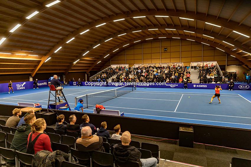 Alphen aan den Rijn, Netherlands, December 22, 2019, TV Nieuwe Sloot,  NK Tennis, Overall vieuw<br /> Photo: www.tennisimages.com/Henk Koster