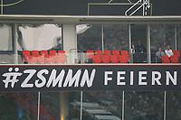 Niemand feiert zusammen in den VIP Logen in Leverkusen - 08.06.2018: Deutschland vs. Saudi-Arabien, Freundschaftsspiel, BayArena Leverkusen