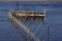 Europe/France/Pays de la Loire/Maine-et-Loire/Montjean-sur-Loire : Bateau de pêche