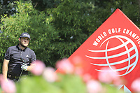 Tyrrell Hatton (ENG) on the 2nd tee during round 1 at the WGC HSBC Champions, Sheshan Golf Club, Shanghai, China. 31/10/2019.<br /> Picture Fran Caffrey / Golffile.ie<br /> <br /> All photo usage must carry mandatory copyright credit (© Golffile | Fran Caffrey)