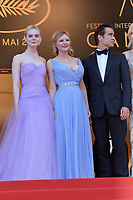 www.acepixs.com<br /> <br /> May 24 2017, Cannes<br /> <br /> (L-R) Elle Fanning, Kirsten Dunst and Colin Farrell arriving at the premiere of 'The Beguiled' during the 70th annual Cannes Film Festival at Palais des Festivals on May 24, 2017 in Cannes, France.<br /> <br /> By Line: Famous/ACE Pictures<br /> <br /> <br /> ACE Pictures Inc<br /> Tel: 6467670430<br /> Email: info@acepixs.com<br /> www.acepixs.com