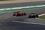 12.04.2019, Shanghai Audi International Circuit, Shanghai, 2019 FORMULA 1 HEINEKEN CHINESE GRAND PRIX<br /> im Bild<br />Sebastian Vettel (GER#5), Scuderia Ferrari, Nico H&uuml;lkenberg (GER#27), Renault F1 Team<br /><br /><br /> <br /> Foto &copy; nordphoto / Bratic