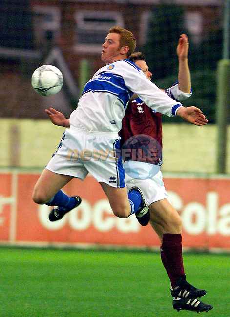 Action from Drogheda United's match against Waterford in United Park..Picture: Paul Mohan/Newsfile