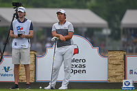 Byeong Hun An (KOR) looks over his tee shot on 11 during day 3 of the Valero Texas Open, at the TPC San Antonio Oaks Course, San Antonio, Texas, USA. 4/6/2019.<br /> Picture: Golffile | Ken Murray<br /> <br /> <br /> All photo usage must carry mandatory copyright credit (&copy; Golffile | Ken Murray)