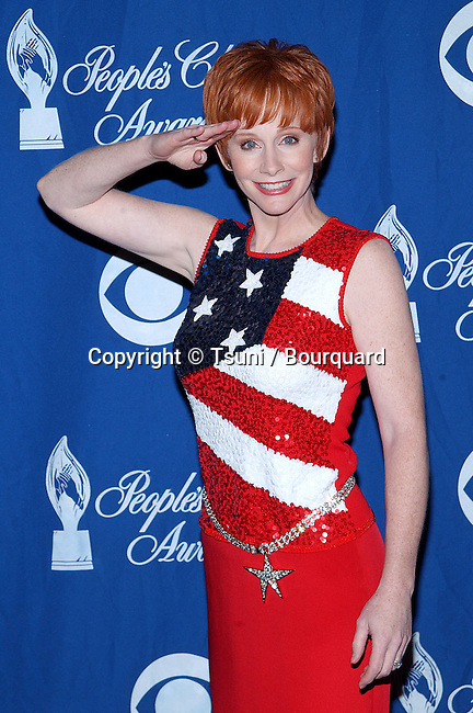 Reba McEntire in the press room at the 28th Annual People's Choice Awards at the Pasadena Civic Auditorium in Los Angeles Sunday, January 13, 2002.           -            McEntireReba06.jpg