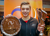 Hilversum, Netherlands, December 2, 2018, Winter Youth Circuit Masters,Boys 16 years Masters overall winner Brian Bozemoj (NED)<br />