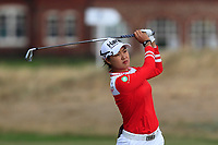 Minjee Lee (AUS) on the 2nd fairway during Round 2 of the Ricoh Women's British Open at Royal Lytham &amp; St. Annes on Friday 3rd August 2018.<br /> Picture:  Thos Caffrey / Golffile<br /> <br /> All photo usage must carry mandatory copyright credit (&copy; Golffile | Thos Caffrey)
