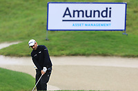 Romain Langasque (FRA) on the 14th during Round 4 of the Amundi Open de France 2019 at Le Golf National, Versailles, France 20/10/2019.<br /> Picture Thos Caffrey / Golffile.ie<br /> <br /> All photo usage must carry mandatory copyright credit (© Golffile | Thos Caffrey)