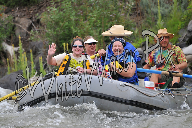 Private Boaters Kayakers & SUP Boarders crashing Cable Rapid while floating the Upper Colorado River from Rancho to Sate Bridge, August 1, 2013, Bond, Colorado - WhiteWater-Pix | River Adventure Photography - by MADOGRAPHER Doug Mayhew
