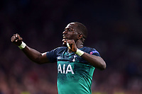 Moussa Sissoko of Tottenham Hotspur celebrates Tottenham's victory after AFC Ajax vs Tottenham Hotspur, UEFA Champions League Football at the Johan Cruyff Arena on 8th May 2019
