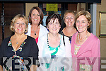 FINISHED: Finished their Shep Course at Collis Sands, Tralee and to Pam il Dora, Restaurant to celebrated on Friday evening to celebrate, L-r: Bridie Courtney, Doreen O'Connell, Nora Hogan, Margaret Aikinson and Eileen Fleming....................................... ....