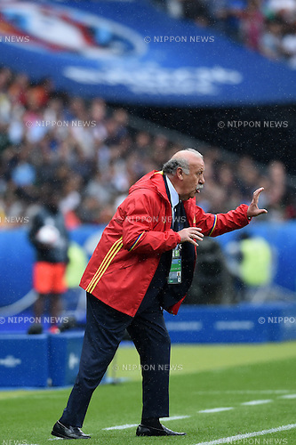 Vicente del Bosque Gonzalez Coach (Spain) ; <br /> June 27, 2016 - Football : Uefa Euro France 2016, Round of 16; Italy 2-0 Spain at Stade de France; Saint-Denis, France. (Photo by aicfoto/AFLO)