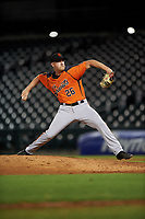 AZL Giants Orange relief pitcher Sam Wolff (26) during a rehab appearance in an Arizona League game against the AZL Cubs 1 on July 10, 2019 at Sloan Park in Mesa, Arizona. The AZL Giants Orange defeated the AZL Cubs 1 13-8. (Zachary Lucy/Four Seam Images)