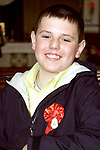 Patrick Goring from Rathmullen who was confirmed in Ballsgrove Church..Picture Paul Mohan Newsfile