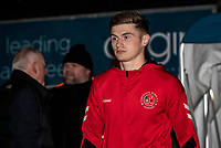 Fleetwood Town's Harvey Saunders pictured before the match<br /> <br /> Photographer Andrew Kearns/CameraSport<br /> <br /> The EFL Sky Bet League One - Wycombe Wanderers v Fleetwood Town - Tuesday 11th February 2020 - Adams Park - Wycombe<br /> <br /> World Copyright © 2020 CameraSport. All rights reserved. 43 Linden Ave. Countesthorpe. Leicester. England. LE8 5PG - Tel: +44 (0) 116 277 4147 - admin@camerasport.com - www.camerasport.com