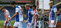 The players enter the pitch<br /> <br /> Photographer Andrew Kearns/CameraSport<br /> <br /> The EFL Checkatrade Trophy - Blackburn Rovers v Stoke City U23s - Tuesday 29th August 2017 - Ewood Park - Blackburn<br />  <br /> World Copyright &copy; 2018 CameraSport. All rights reserved. 43 Linden Ave. Countesthorpe. Leicester. England. LE8 5PG - Tel: +44 (0) 116 277 4147 - admin@camerasport.com - www.camerasport.com