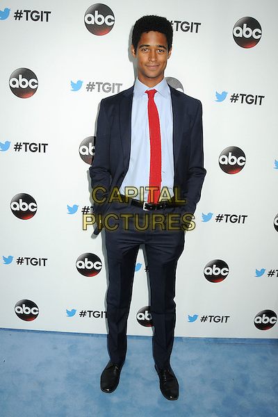 20 September 2014 - West Hollywood, California - Alfred Enoch. ABC's &quot;Thank Good It's Thursday!&quot; Premiere Event for &quot;Grey's Anatomy&quot;, &quot;Scandal&quot;, &quot;How To Get Away With Murder&quot; held at Palihouse.  <br /> CAP/ADM/BP<br /> &copy;Byron Purvis/AdMedia/Capital Pictures