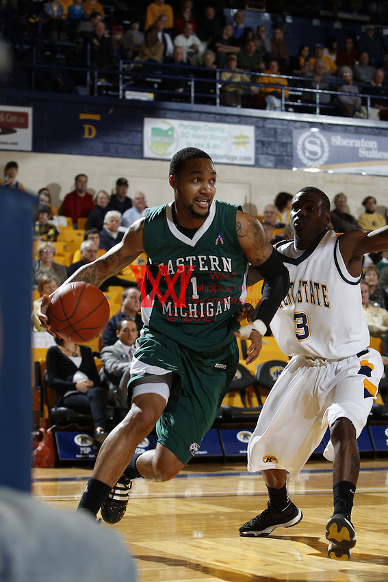 Eastern Michigan University Men's Basketball @ Kent State U.