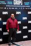 "Presentation at the Intercontinental Hotel in Madrid of the film ""Group 7"" with the presence of the actors Mario Casas, Antonio de la Torre, Inma Cuesta, Jose Manuel Poga, Joaquin Nunez, director Alberto Rodriguez, and producer Jose Antonio Fellez. In the picture: IJoaquin Nunez..(Alterphotos/Marta Gonzalez)"