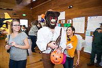 Faculty member David Kasunic. Photo from the Boo Bash in the Tiger Cooler, Oct. 30, 2015.<br />