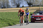 Stijn Steels (BEL) Roomport-Charles descends off Paterberg during the 2019 E3 Harelbeke Binck Bank Classic 2019 running 203.9km from Harelbeke to Harelbeke, Belgium. 29th March 2019.<br /> Picture: Eoin Clarke | Cyclefile<br /> <br /> All photos usage must carry mandatory copyright credit (© Cyclefile | Eoin Clarke)