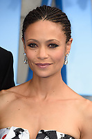 Thandie Newton arriving for the &quot;Mama Mia! Here We Go Again&quot; world premiere at the Eventim Apollo, Hammersmith, London, UK. <br /> 16 July  2018<br /> Picture: Steve Vas/Featureflash/SilverHub 0208 004 5359 sales@silverhubmedia.com