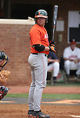Chris Petralli of the Miami Hurricanes vs. the Virginia Cavaliers: March 24th, 2007 at Davenport Field in Charlottesville, VA.  Photo copyright Mike Janes Photography 2007.
