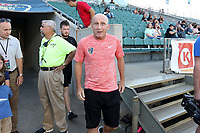 Cary, North Carolina  - Saturday August 05, 2017: Paul Riley prior to a regular season National Women's Soccer League (NWSL) match between the North Carolina Courage and the Seattle Reign FC at Sahlen's Stadium at WakeMed Soccer Park. The Courage won the game 1-0.