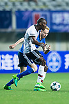 Besiktas Istambul Midfielder Atiba Hutchinson (L) fights for the ball with FC Schalke Midfielder Luke Hemmerich (R) during the Friendly Football Matches Summer 2017 between FC Schalke 04 Vs Besiktas Istanbul at Zhuhai Sport Center Stadium on July 19, 2017 in Zhuhai, China. Photo by Marcio Rodrigo Machado / Power Sport Images