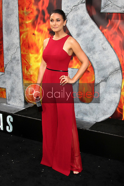 """Emmanuelle Chriqui<br /> at the """"San Andreas"""" Los Angeles Premiere, TCL Chinese Theater, Hollywood, CA 05-26-15<br /> David Edwards/DailyCeleb.Com 818-249-4998"""