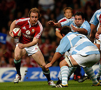 2005 British & Irish Lions vs Argentina, at The Millennium Stadium, Cardiff, WALES played on  23.05.2005, Dennis Hickie.  Photo  Peter Spurrier. .email images@intersport-images...