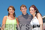 RACE DAY: Paula, Eanna and Gemma Kavanagh, Killarney enjoying their day out at the Listowel Races on Sunday afternoon.