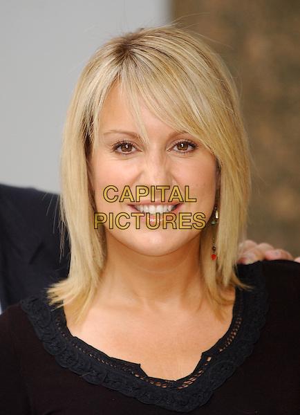 "NICKI CHAPMAN.""Pop Idol"" TV program judges photocall.nikki nicky nikky headshot, portrait.sales@capitalpictures.com.www.capitalpictures.com.©Capital Pictures"