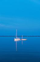 Sailboats.