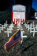 December 1976. Americus, Georgia. A traditional cemetery in Americus.