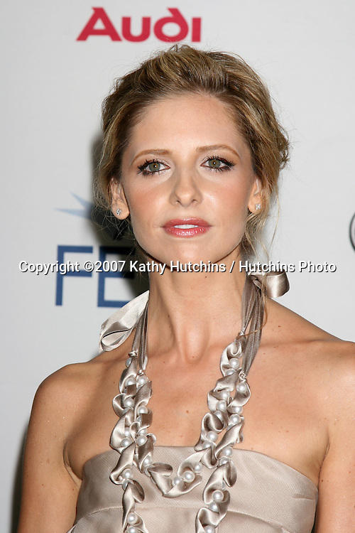 "Sarah Michelle Gellar.""Southland Tales"" Premiere.AFI Film Festival.ArcLight Theaters.Los Angeles, CA.November 2, 2007.©2007 Kathy Hutchins / Hutchins Photo...               ."