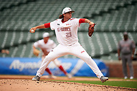 Jack Conlon (23) of Clements High School in Sugar Land, Texas during the Under Armour All-American Game presented by Baseball Factory on July 23, 2016 at Wrigley Field in Chicago, Illinois.  (Mike Janes/Four Seam Images)