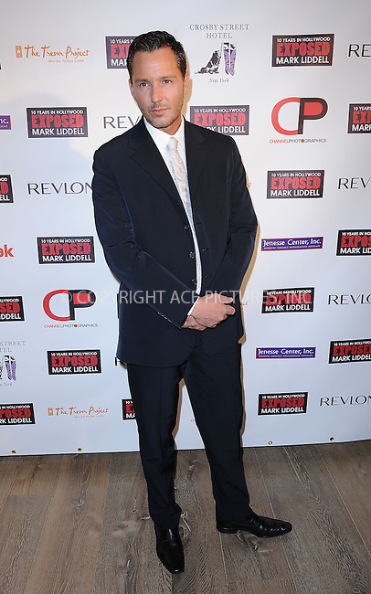 "WWW.ACEPIXS.COM . . . . . ....November 16 2009, New York City....Photographer Mark Liddell arriving at ""An Evening of Awareness"" at the Crosby Street Hotel on November 16, 2009 in New York City.....Please byline: KRISTIN CALLAHAN - ACEPIXS.COM.. . . . . . ..Ace Pictures, Inc:  ..tel: (212) 243 8787 or (646) 769 0430..e-mail: info@acepixs.com..web: http://www.acepixs.com"