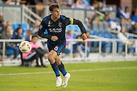 San Jose, CA - Thursday December 31, 2015: Chris Wondolowski during a Major League Soccer (MLS) match between the San Jose Earthquakes and Sporting Kansas City at Avaya Stadium.