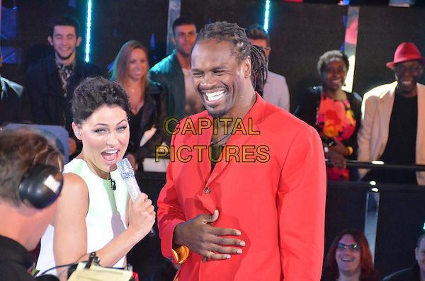 Emma Willis (nee Griffiths), Audley Harrison <br /> in Celebrity Big Brother - Summer 2014 <br /> *Editorial Use Only*<br /> CAP/NFS<br /> Image supplied by Capital Pictures