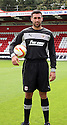 Steve Arnold of Stevenage. Stevenage FC photoshoot -  Lamex Stadium, Stevenage . - 16th August, 2012. © Kevin Coleman 2012