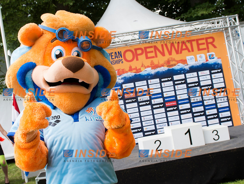 Mascotte<br /> Hoorn, Netherlands <br /> LEN 2016 European Open Water Swimming Championships <br /> Open Water Swimming<br /> Women's 5km<br /> Day 02 12-07-2016<br /> Photo Giorgio Perottino/Deepbluemedia/Insidefoto
