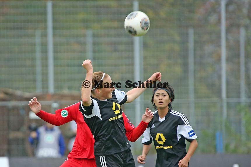 Kopfball Melanie Behringer (FFC) - 1. FFC Frankfurt vs. VfL Sindelfingen