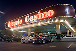Exterior of Bicycle Casino.