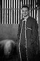 23/12/16 - BADAILLAC - CANTAL - FRANCE - Portrait de Benoit JULHES - Photo Jerome CHABANNE