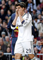 Real Madrid's Alvaro Morata during La Liga match.March 02,2013. (ALTERPHOTOS/Acero) /NortePhoto