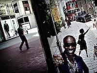 "Market Street<br /> From ""Color Blind"" series. San Francisco, 2007"