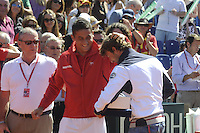 GIJÓN. 15 DE SEPTIEMBRE DE 2012. SEMIFINALES COPA DAVIS ESPAÑA - USA. HOMENAJE A JUAN CARLOS FERRERO.FOTO: PEDRO PASCUAL / LOF
